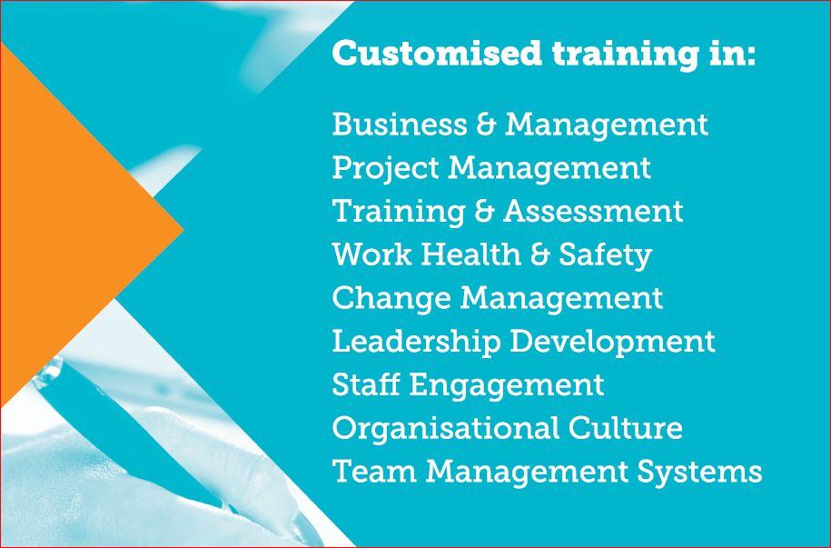 List of customised training